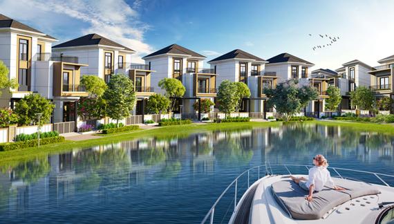 Một trong những khu đô thị sinh thái chuẩn mực: Aqua City.