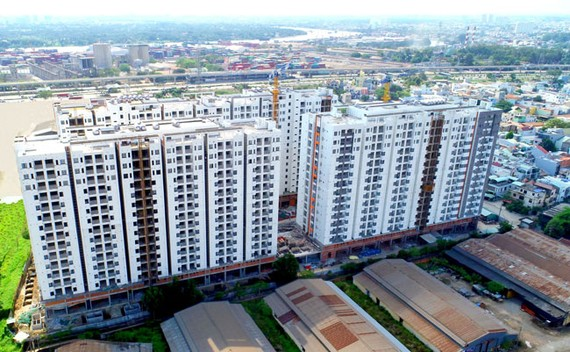 Cải thiện môi trường chung cư Him Lam Phú An
