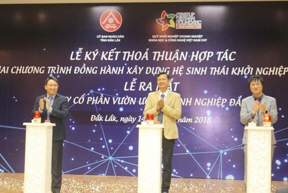 SVF triển khai chương trình khởi nghiệp sáng tạo tại tỉnh Đắk Lắk.