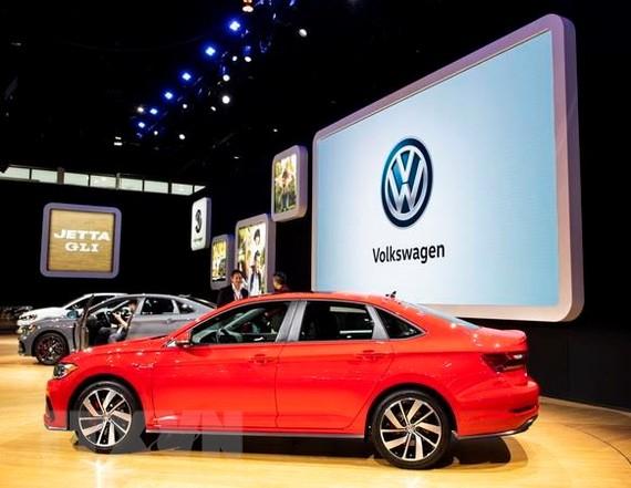 Mẫu ôtô của Volkswagen. (Ảnh: THX/TTXVN)