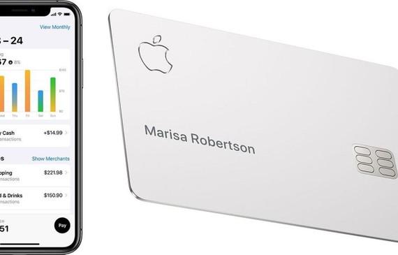 Thẻ tín dụng Apple Card sẽ ra mắt vào tháng 8