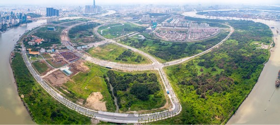 Đấu giá lô đất 74.000 m2 tại Thủ Thiêm xây dựng khách sạn