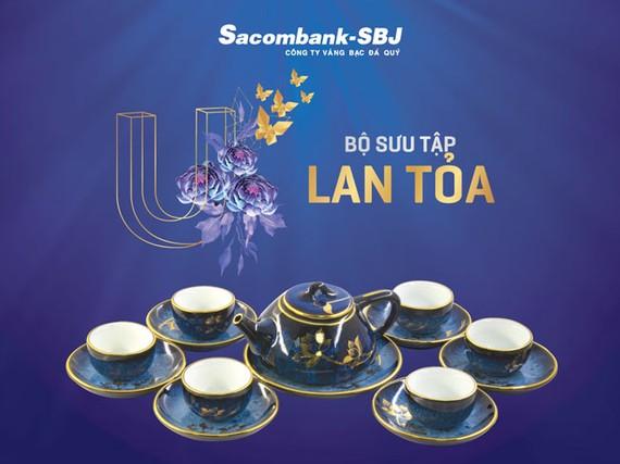 """Sacombank-SBJ giới thiệu bộ sưu tập """"Lan toả giá trị toàn mỹ"""""""