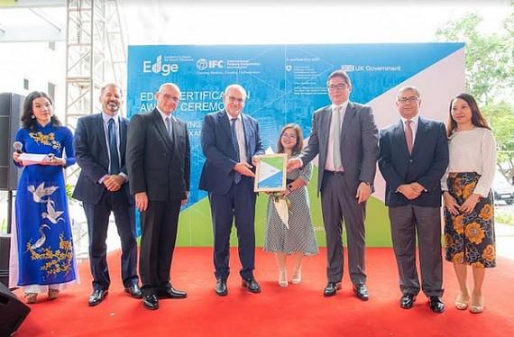 Chung cư HausNeo được cấp chứng nhận công trình xanh EDGE