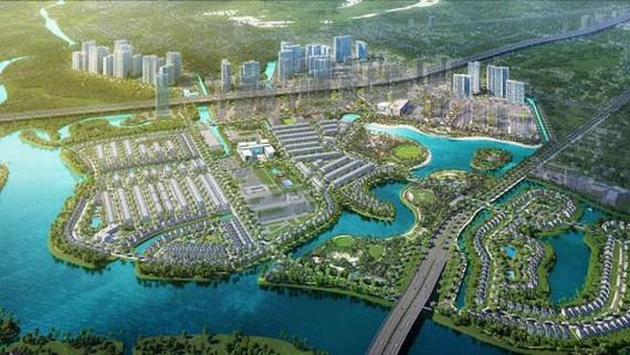 Dự án Vinhomes Grand Park sở hữu không gian xanh, thu hút cộng đồng quốc tế (Ảnh minh họa)