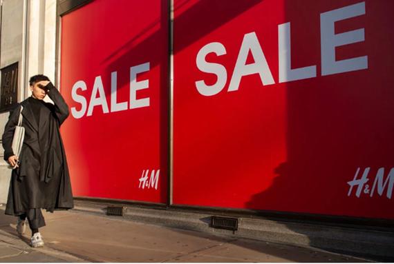 Tình hình bán lẻ tại Anh được dự báo sẽ ảm đạm trong vài tháng tới.(Nguồn: cityam.com)