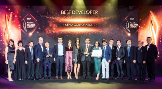 Kiến Á được vinh danh tại PropertyGuru Vietnam Property Awards 2019