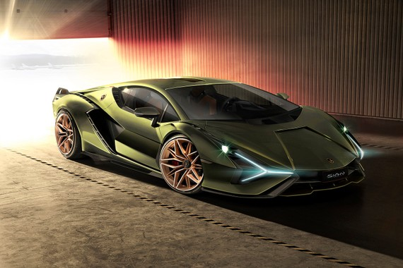 Lộ diện siêu xe uy lực Lamborghini