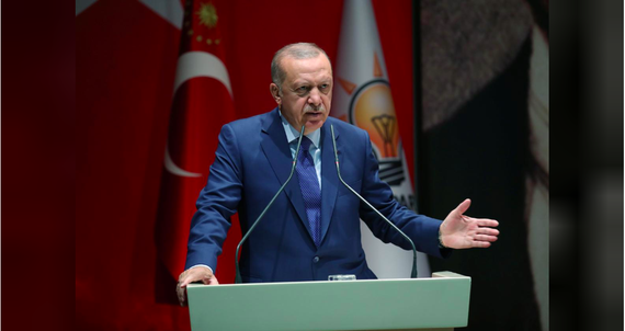 Tổng thống Thổ Nhĩ Kỳ phát biểu trong một buổi họp tại Ankara vào ngày 05/09 – Nguồn: Murat Kula/Reuters