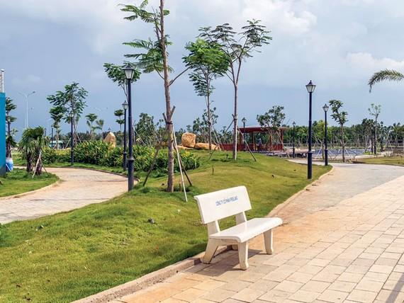 Một góc dự án King Bay vẫn đang trong giai đoạn tranh chấp. Ảnh: Minh Tuấn