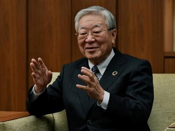 Chủ tịch Liên đoàn doanh nghiệp Nhật Bản (Keidanren) Hiroaki Nakanishi. (Nguồn: japantimes)