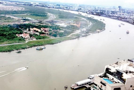 Một đoạn sông Sài Gòn