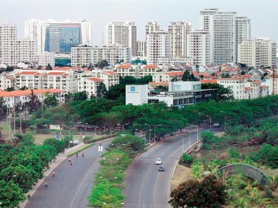 Khu đô thị Phú Mỹ Hưng không phát triển được do thiếu liên kết giao thông với khu trung tâm.