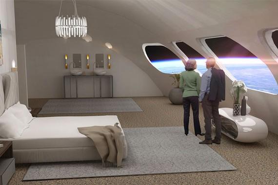 Mỹ: Phát triển siêu du thuyền du hành trong không gian