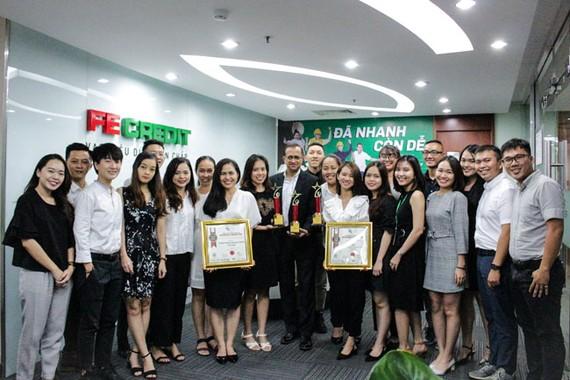 FE Credit nhận thêm 3 giải thưởng tại lễ trao giải CMO Asia 2019