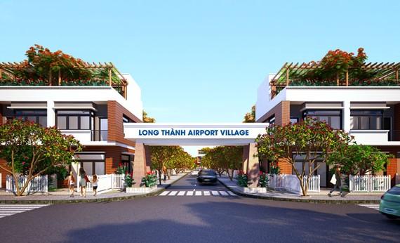 Phối cảnh Dự án Long Thành Airport Village.