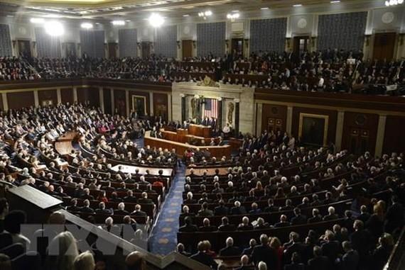 Toàn cảnh một phiên họp Hạ viện Mỹ ở Washington, DC. (Nguồn: AFP/TTXVN)