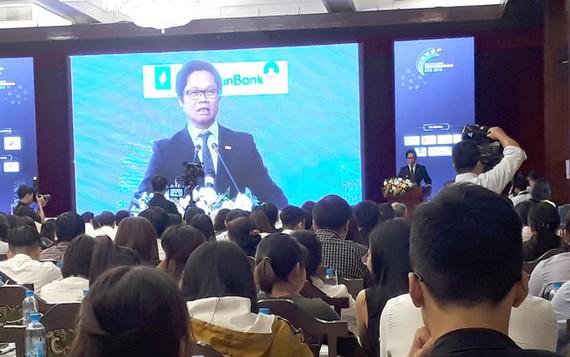 TS. Vũ Tiến Lộc, Chủ tịch VCCI phát biểu khai mạc Diễn đàn