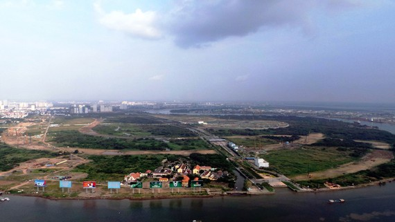 Khu đô thị sáng tạo, tương tác cao phía Đông TP HCM có phạm vi nghiên cứu qui hoạch khoảng 21.000 ha. (Ảnh tư liệu: Lê Giang)