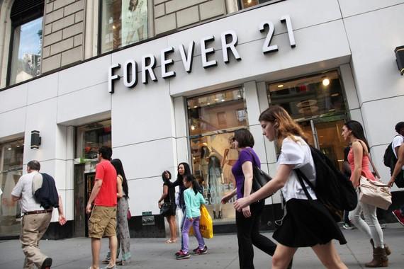 Cửa hàng Forever 21 ở New York. Nguồn: Scott Mlyn | CNBC
