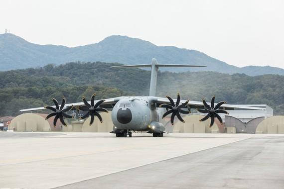 Mẫu máy bay vận tải A400M thế hệ mới.