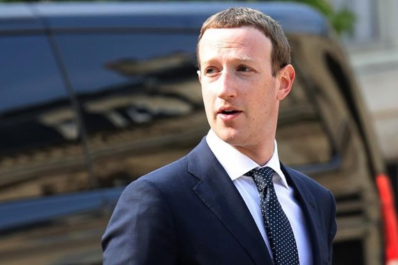 Giám đốc điều hành Facebook Mark Zuckerberg. (Nguồn: AFP)
