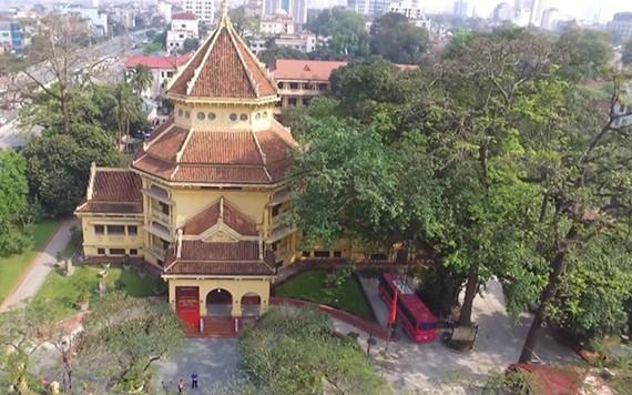 Bảo tàng Lịch sử quốc gia, số 1 Tràng Tiền, là điểm du lịch không khói thuốc ở Hà Nội (Ảnh: Bảo tàng Lịch sử quốc gia).