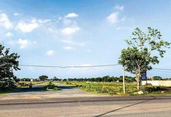 Quang cảnh dự án KDC số 1 Tây Nam đến nay vẫn nham nhở.