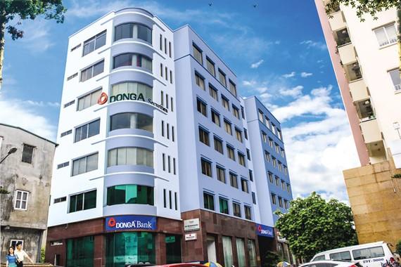 Một góc trụ sở của DongABank.