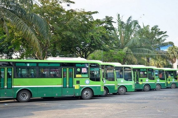 Kiến nghị sử dụng thêm 7 bãi đậu đỗ xe buýt