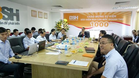 TCTCP Bảo hiểm Sài Gòn - Hà Nội (BSH) tổ chức chương trình kỷ niệm cột mốc kinh doanh 1.000 tỷ đồng trên toàn hệ thống
