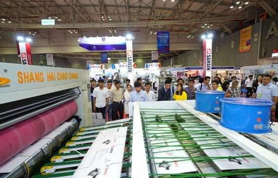 375 doanh nghiệp tham gia Triển lãm đóng gói bao bì và in ấn