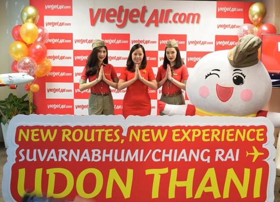 Phó TGĐ Vietjet Nguyễn Thị Thúy Bình công bố đường bay mới tại Bangkok