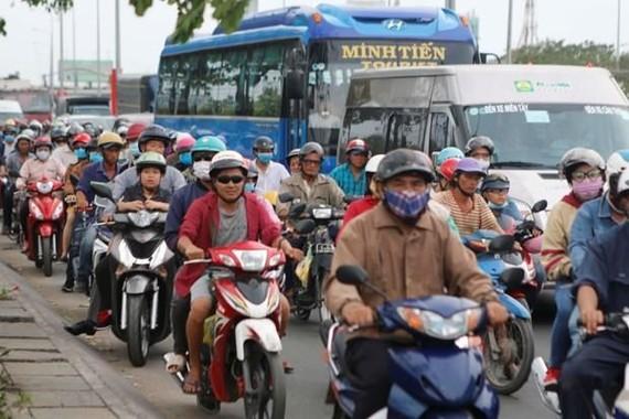 Dân số Thành phố Hồ Chí Minh đông nhất cả nước. Ảnh minh họa. (Nguồn: TTXVN)