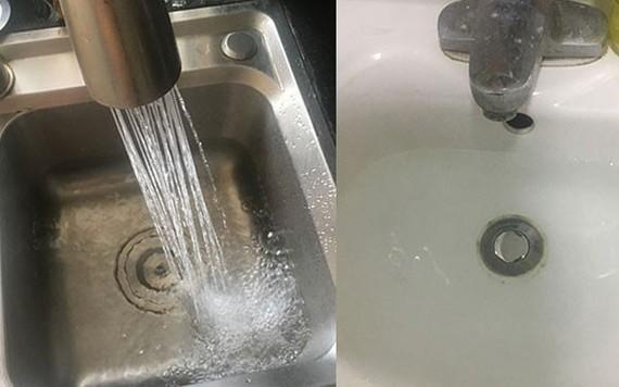 Người dân lo lắng vì nước sinh hoạt bốc mùi lạ