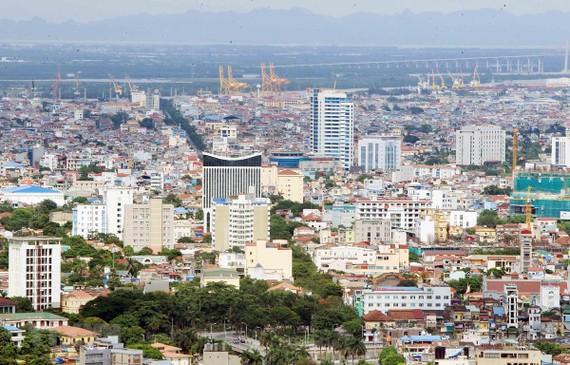 Một góc thành phố Hải Phòng, một trong 7 tỉnh, thành phố của Vùng Kinh tế trọng điểm Bắc Bộ. (Ảnh: An Đăng/TTXVN)