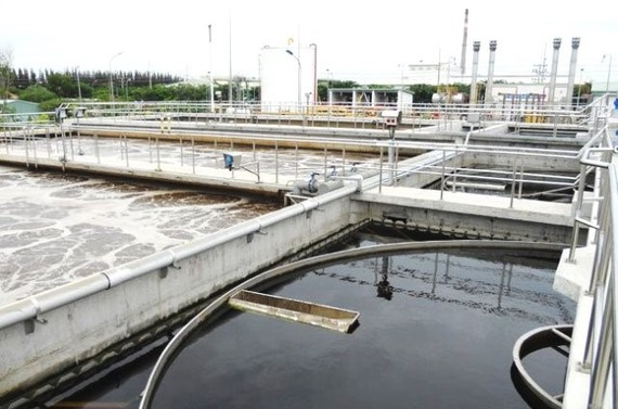 Xây dựng nhà máy xử lý nước thải hiện đại tại quận Bình Tân