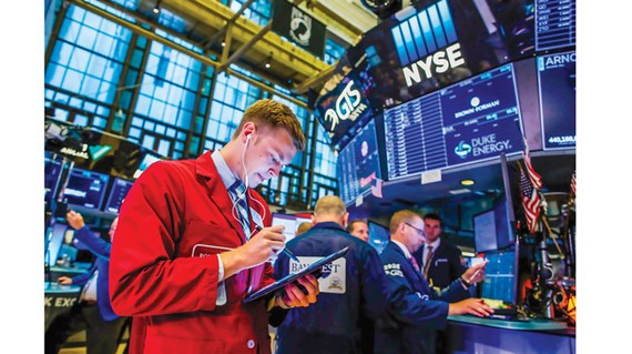 Sở Giao dịch chứng khoán New York (NYSE).