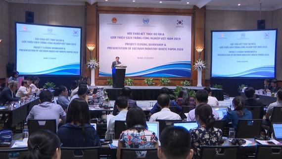 Bộ Công Thương công bố sách trắng công nghiệp Việt Nam 2019