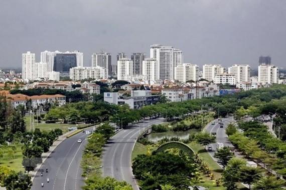 Một góc Khu đô thị Phú Mỹ Hưng, TP. Hồ Chí Minh. (Ảnh minh họa. Nguồn: TTXVN)