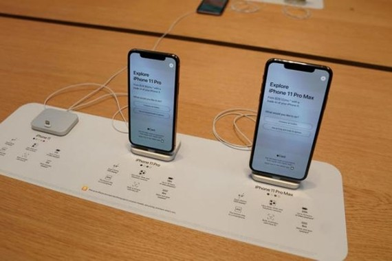Dòng iPhone 11 mới của Apple. (Nguồn: Reuters)