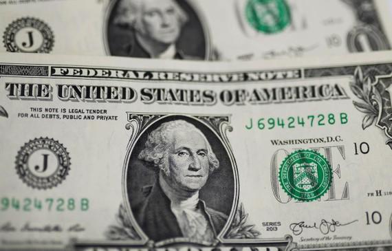 Đồng đôla Mỹ tại Washington DC., ngày 18/9/2019. (Ảnh: THX/TTXVN)