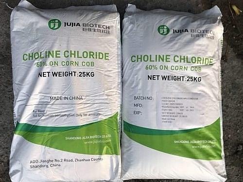 Sản phẩm phụ gia chăn nuôi Choline Chloride