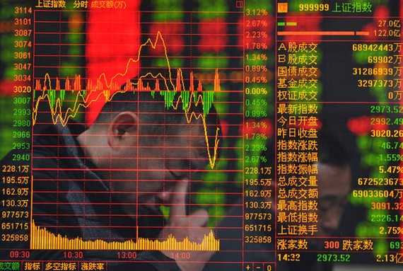 Chứng khoán Trung Quốc giảm khi thị trường mở cửa lại