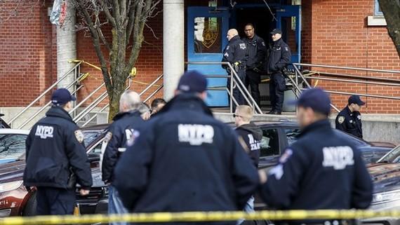 Hiện trường vụ nổ súng. (Nguồn: AP)
