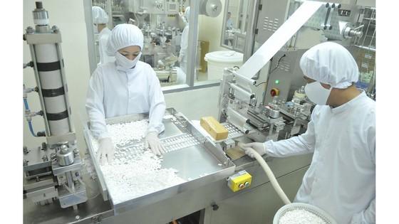 Doanh nghiệp đang chủ động có nguồn nguyên liệu đảm bảo sản xuất liên tục. ẢNH: CAO THĂNG