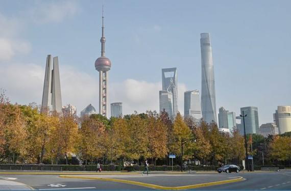 Trung tam tai chinh: Trung tâm tài chính Thượng Hải.