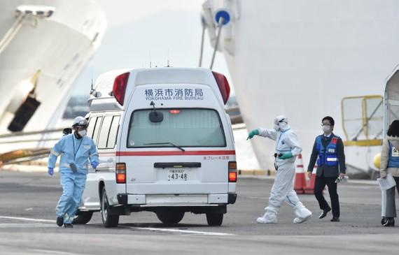Nhật Bản đang cảnh giác cao độ trước diễn biến mới của tình hình lây nhiễm bệnh viêm đường hô hấp cấp COVID-19. (Ảnh: AFP/TTXVN)