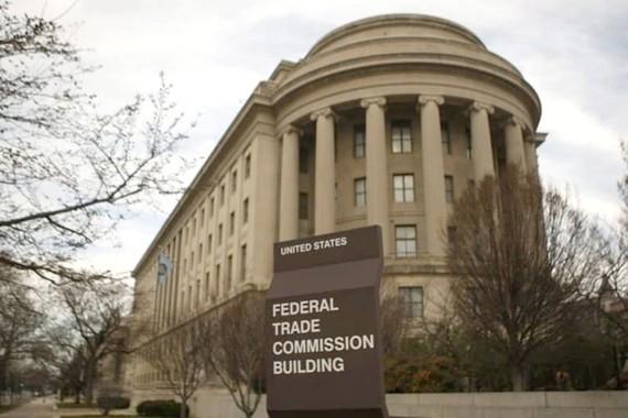 Tòa nhà Ủy ban Thương mại Liên bang tại Washington (Gary Cameron/Reuters)