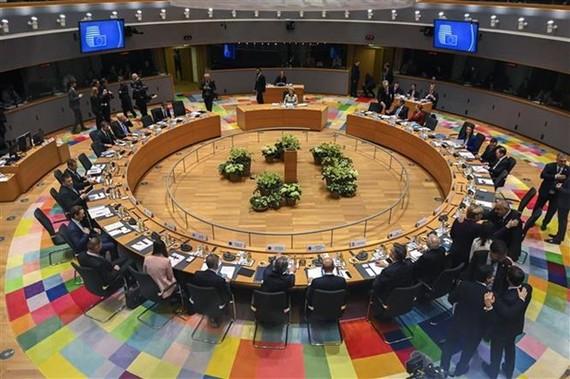Toàn cảnh hội nghị thượng đỉnh EU tại Brussels, Bỉ ngày 20/2/2020. (Ảnh: AFP/TTXVN)